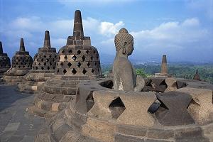 Tempel-in-Borobudur in