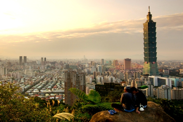 Skyline Taipei in Die besten Reiseziele 2015