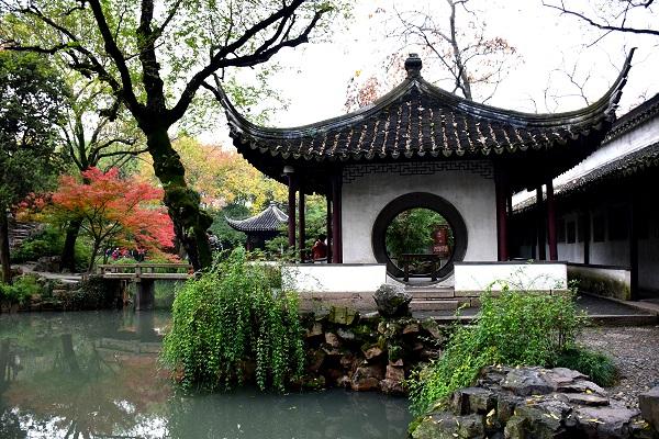 Zhuozhengyuan Garten in Paradies auf Erden: Suzhou und Hangzhou