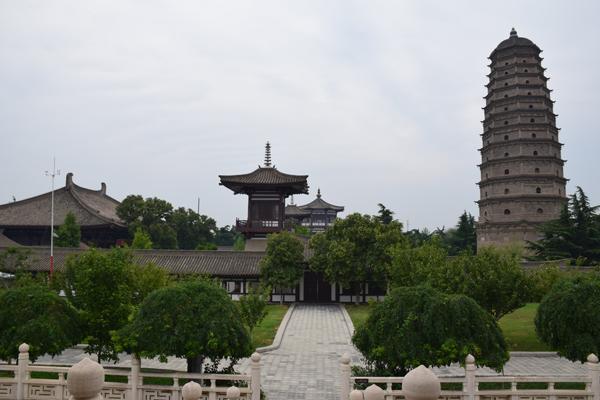 Famen Tempel in Das Dorf Yuanjiacun – Ausflugsziel von Xian