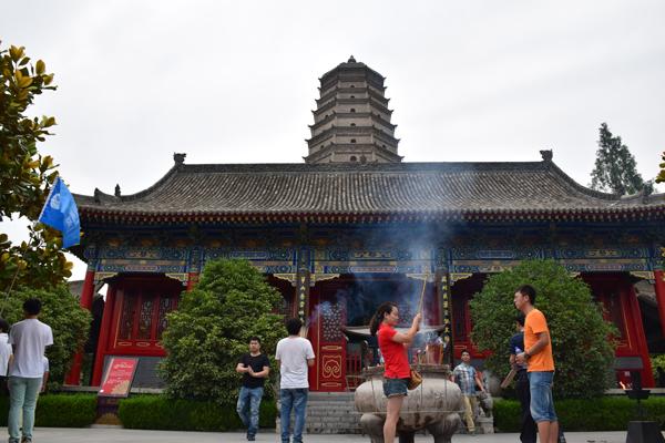 Famensi Tempel in Das Dorf Yuanjiacun – Ausflugsziel von Xian