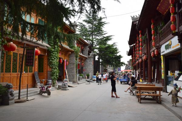 Yuanjiacun Strasse in Das Dorf Yuanjiacun – Ausflugsziel von Xian