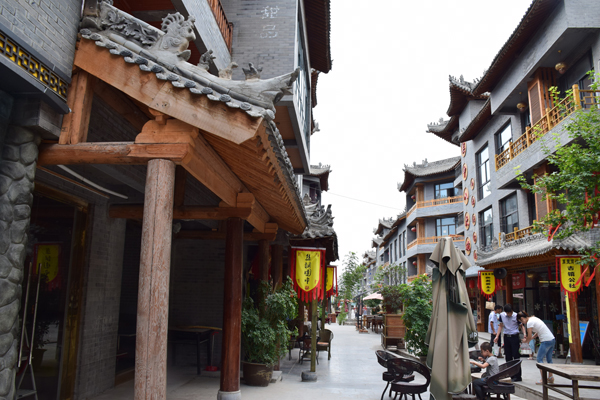 Yuanjiacun Strasse2 in Das Dorf Yuanjiacun – Ausflugsziel von Xian