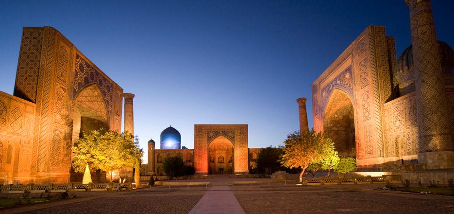 Usbekistan in Visumfreie Einreise nach Usbekistan ab April 2017