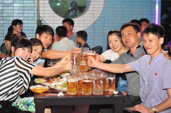 Bierfestival Pyongyang Nordkorea 2 in
