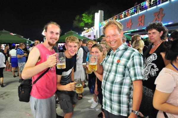 Bierfestival Pyongyang Nordkorea 5 in