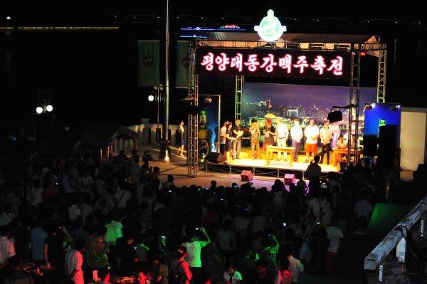Bierfestival Pyongyang Nordkorea 7 in