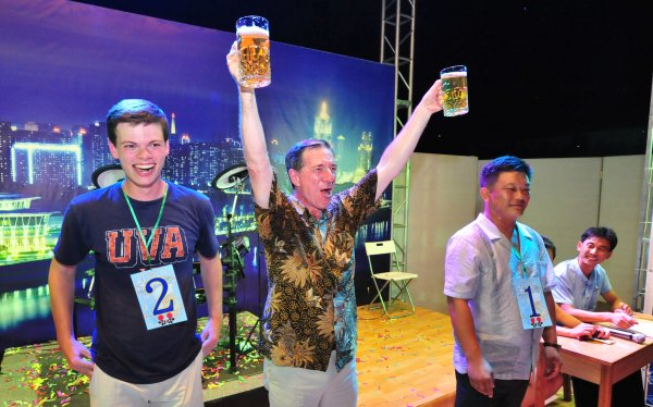 Bierfestival Pyongyang Nordkorea 8 in