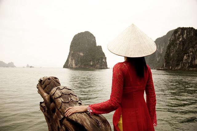 Vietnam Halong Bucht in