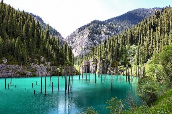 Kaindy See in Kasachstan-Reisen zur Expo 2017 Astana